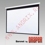 "Экран с электроприводом Draper Baronet 305/120"" (10') 175x234 MW (3:4)"