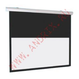 Экран с электроприводом Classic Solution Premier Phoenix-R 342х342 см (16:9) extra drop
